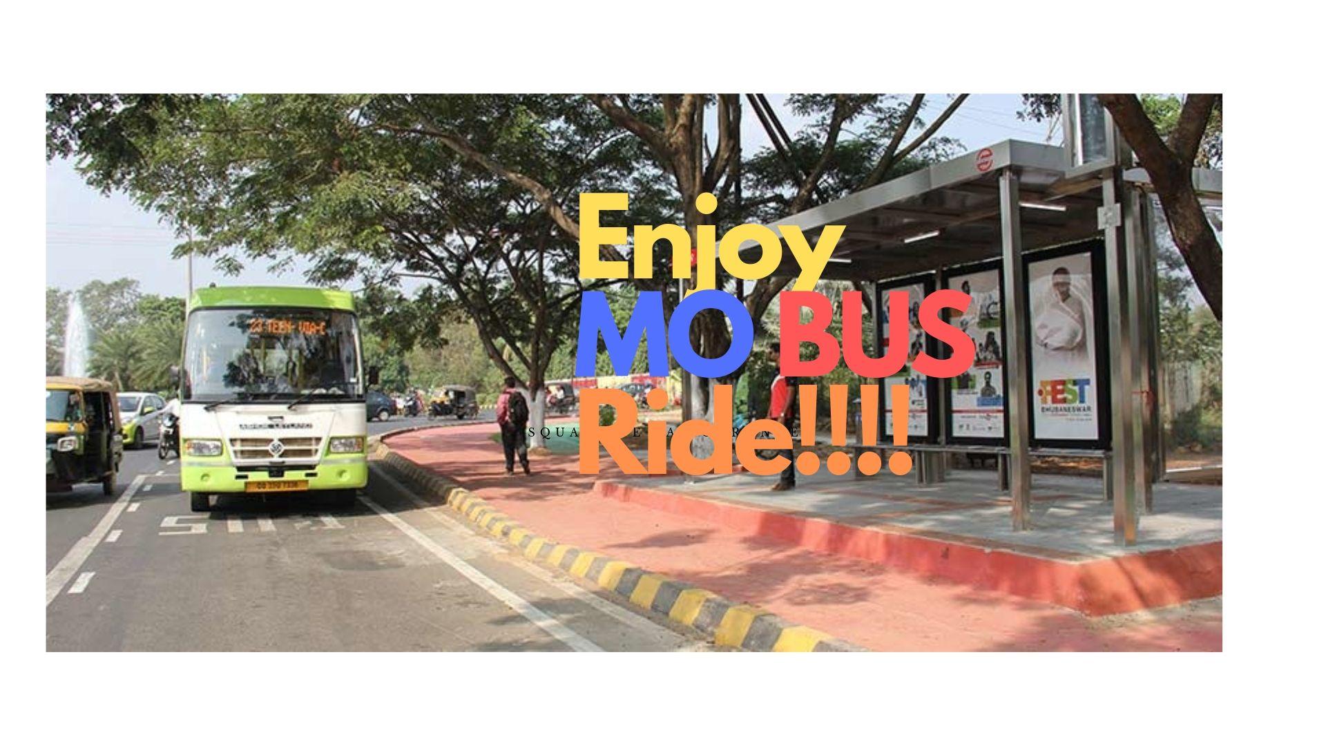 Enjoy mo bus ride