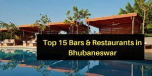 bars & restaurants bhubaneswar