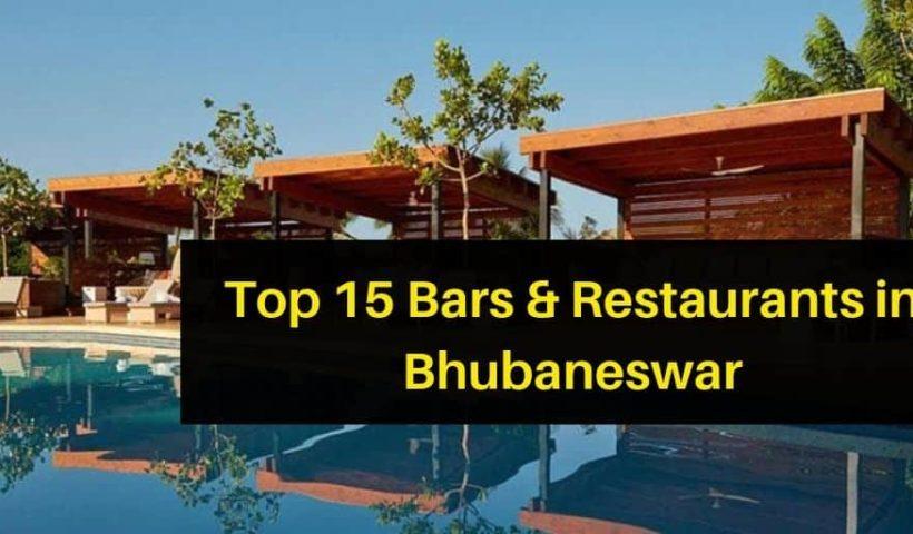 Top 15 Bars & Restaurants in Bhubaneswar
