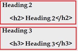 header-2 and header-3