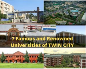 7 Famous and Renowned Universities of TWIN CITY