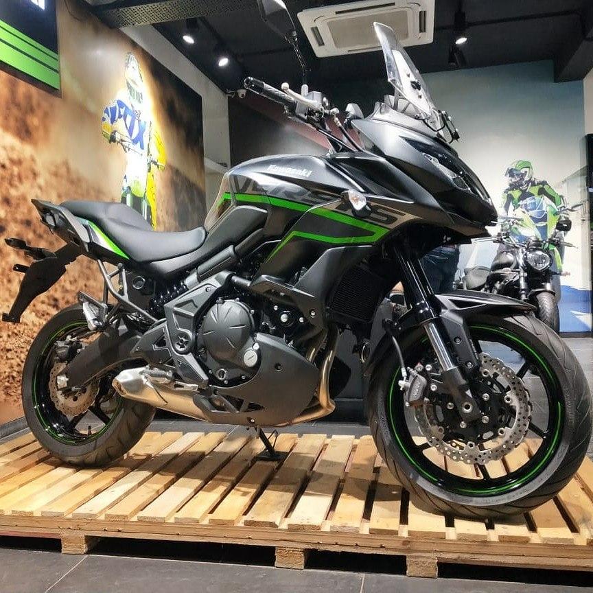 superbike showroom of kawasaki