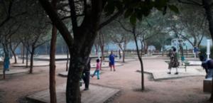 kharavale park jogging area