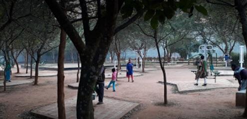 kharavel park, bbsr jogging area