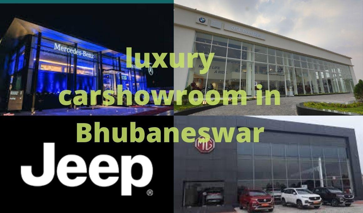 luxury car showrooms in Bhubaneswar