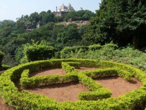 kharavela park, garden area