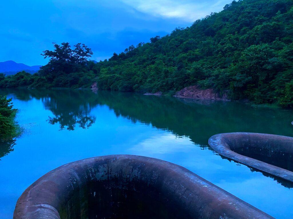Top view of Sapua dam