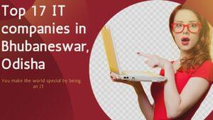 Top 17 It companies in bhubaneswar, odisha