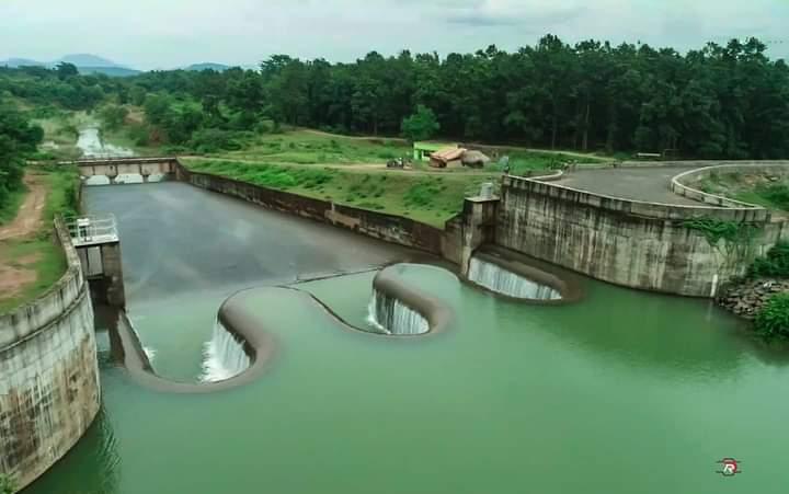 Sapua dam view