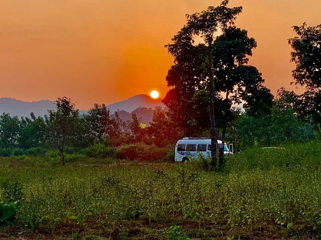 Deojhar Sunset
