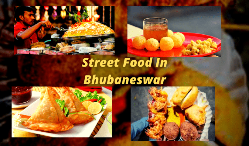 Street food in Bhubaneswar