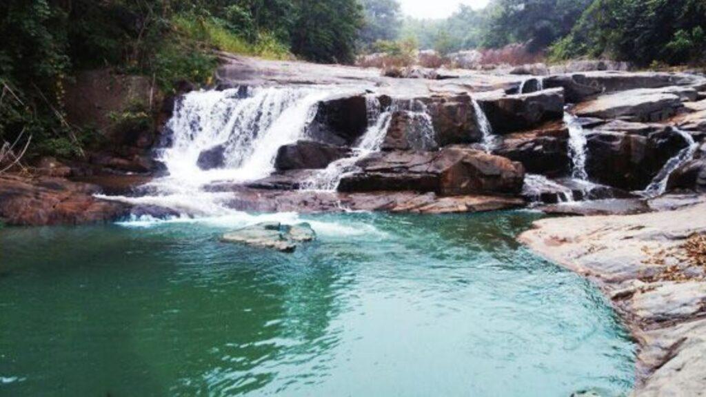 ludu waterfall
