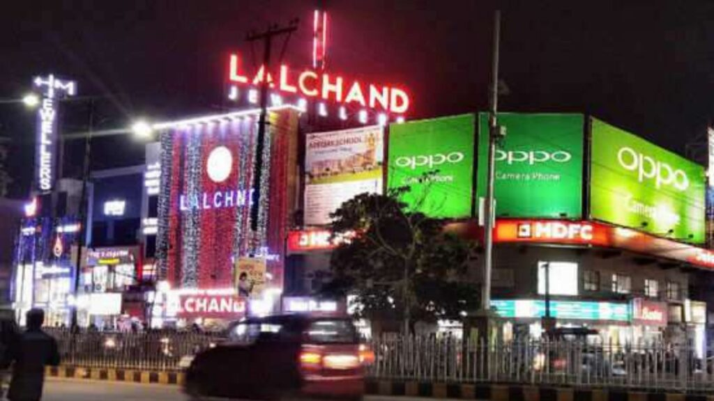Lalchand jewellers at station bazar