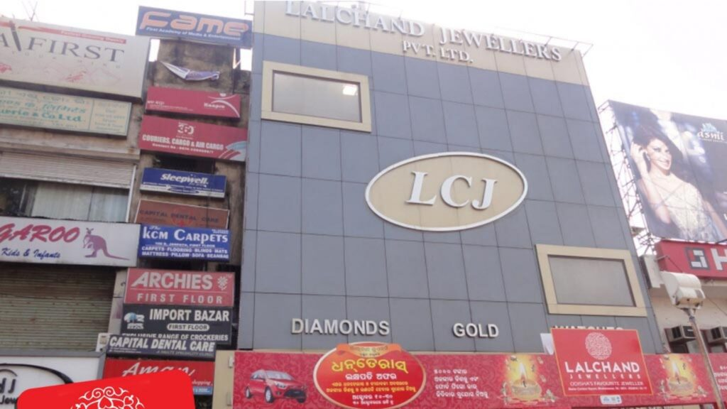 Lalchand jewellers at market building
