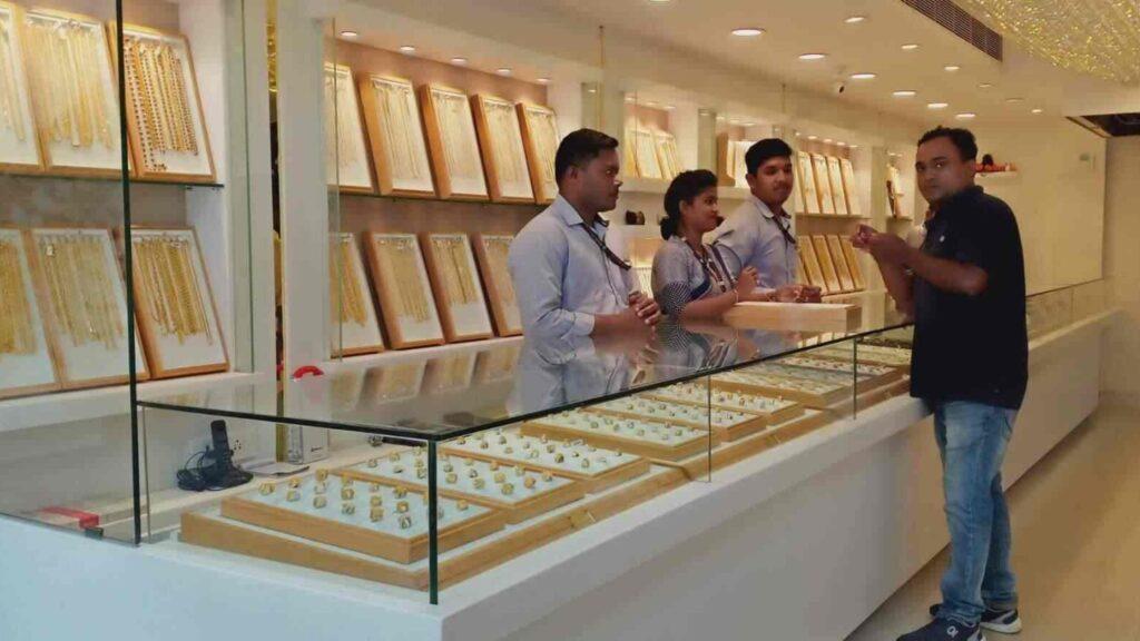 Rithvika jewellers at kharbela nagar