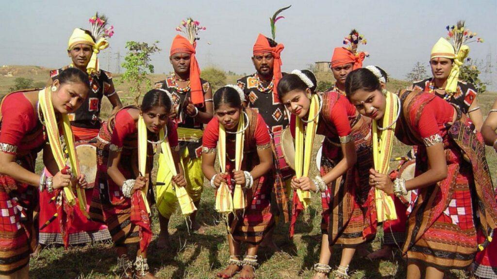 folk dance of Nuakhai