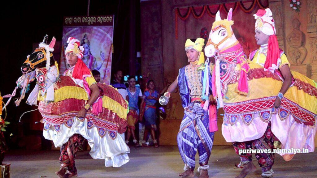 chaiti ghoda dance of Odisha