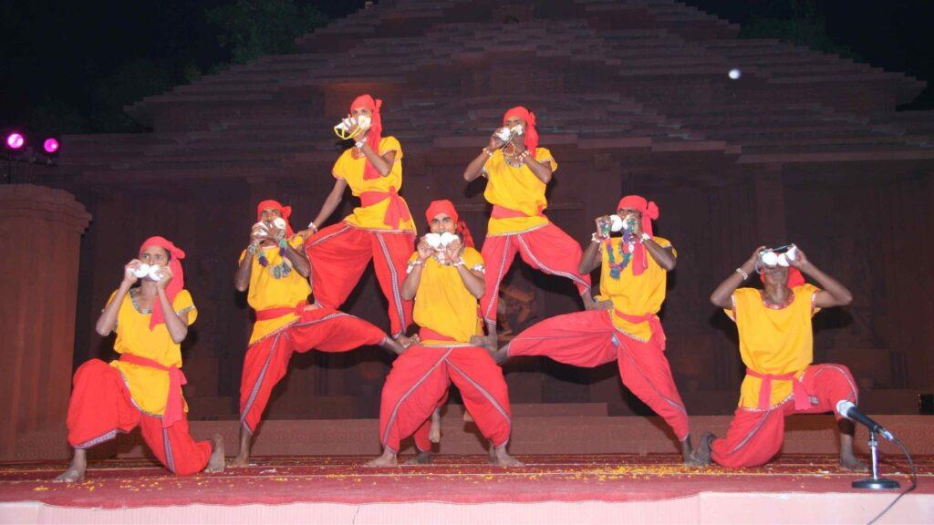 jodi sankha dance of Odisha
