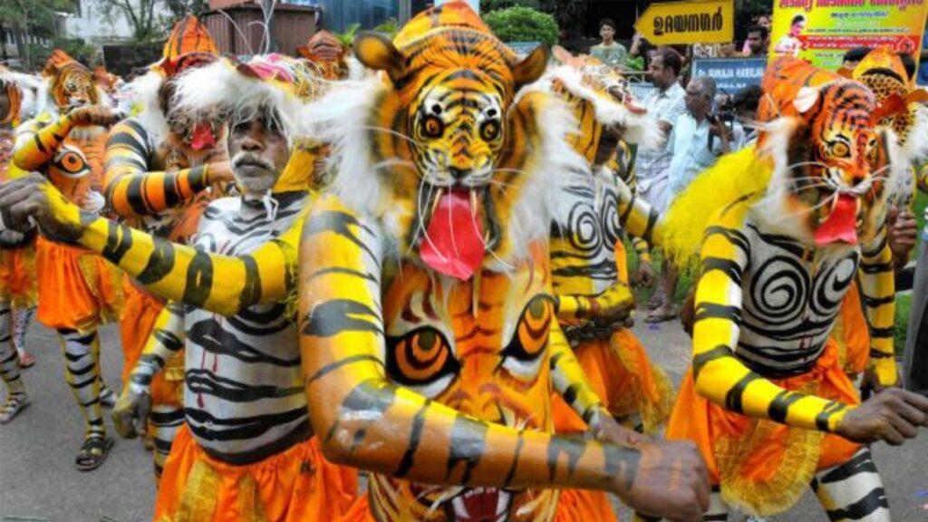 bagha dance of Odisha