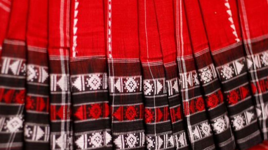 habaspuri traditional saree of kalahandi