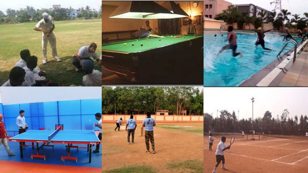 Recreation of the Bhubaneswar Club
