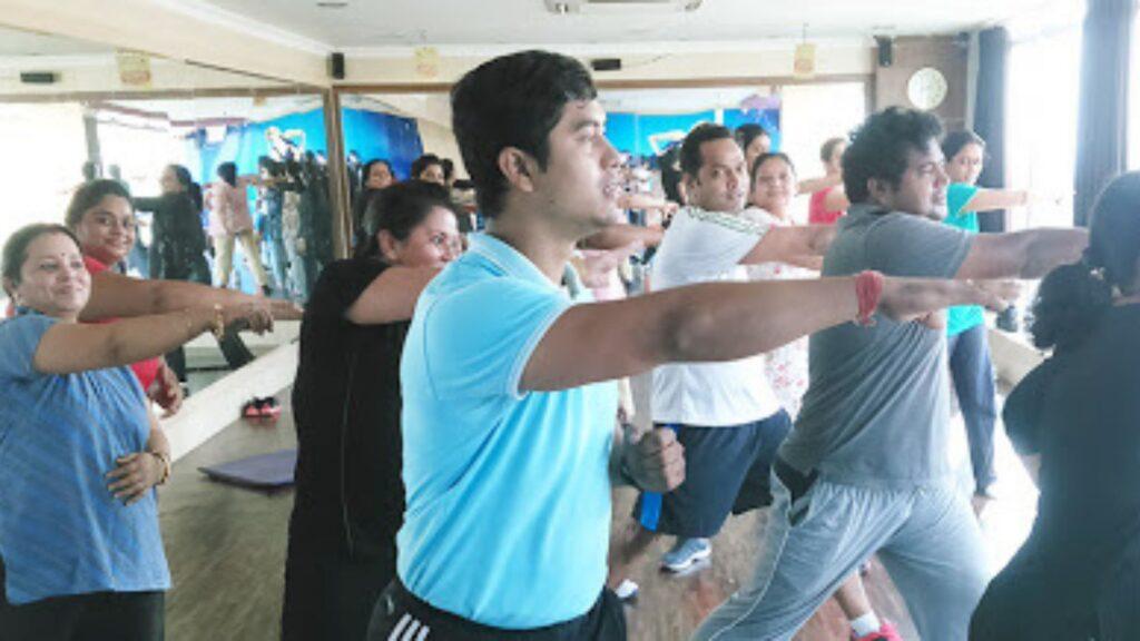Gym and Jacuzzi of the Bhubaneswar Club