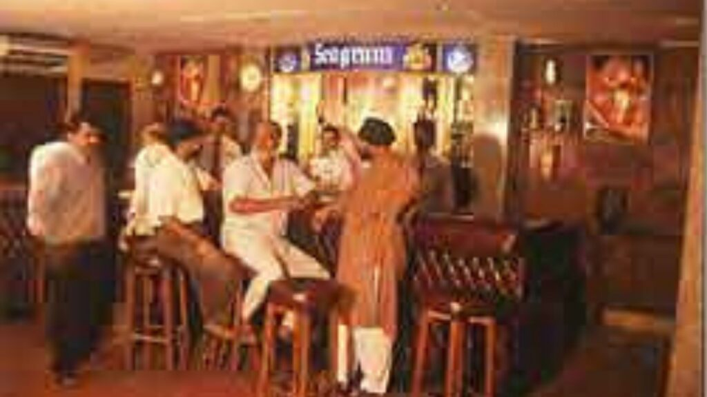Bar and Beverages of the Bhubaneswar Club