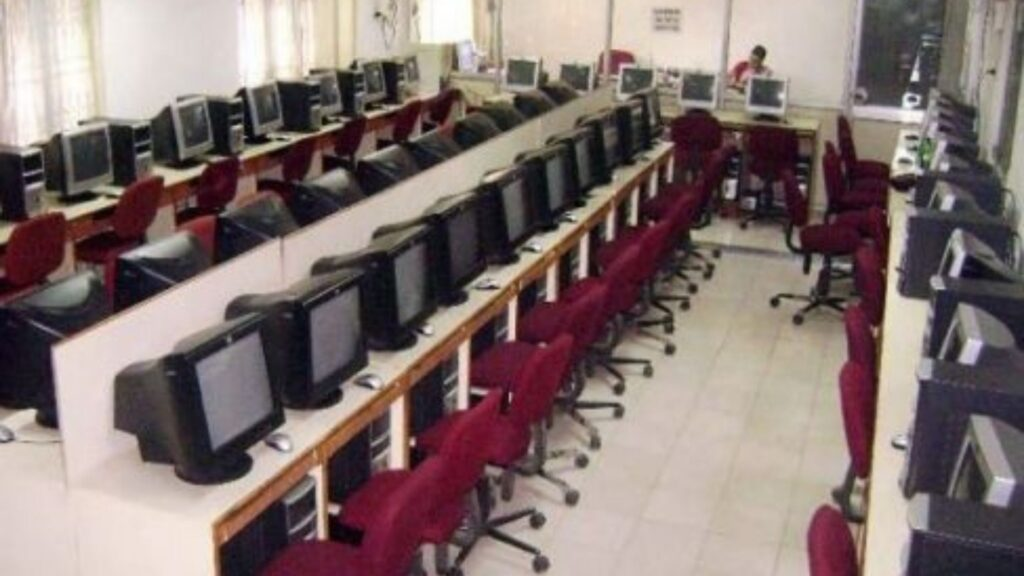 Communication centre of the Bhubaneswar Club