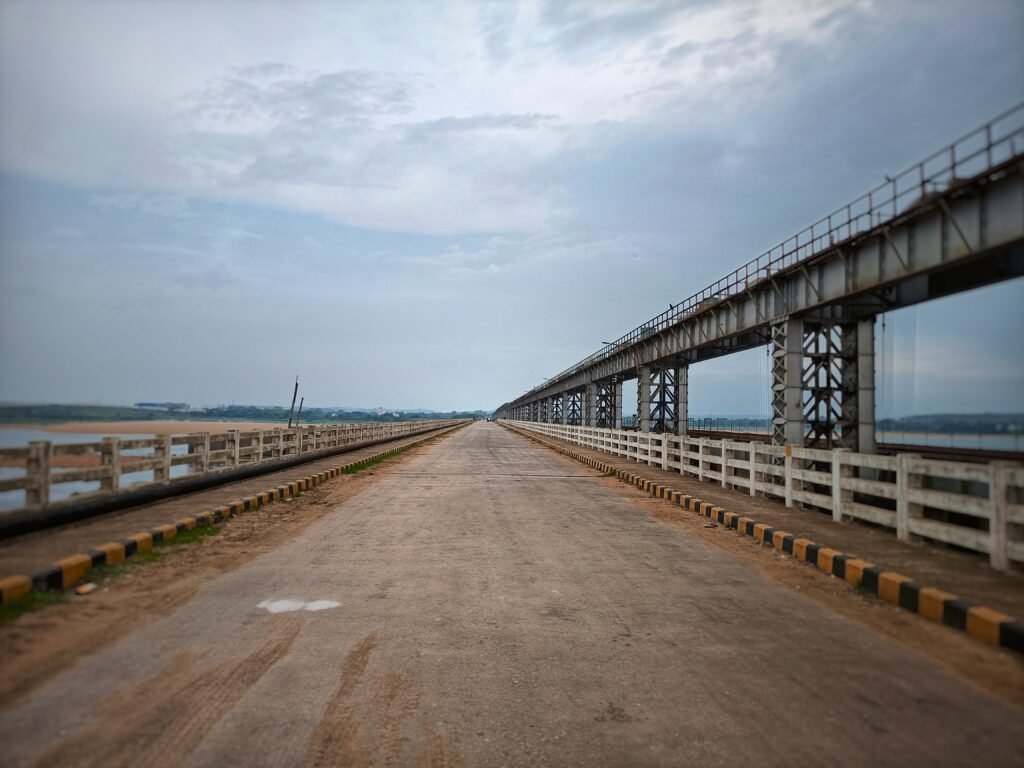 Face of the Naraj Barrage