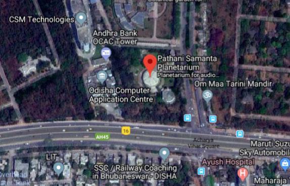 location of pathani samanta planetatrium