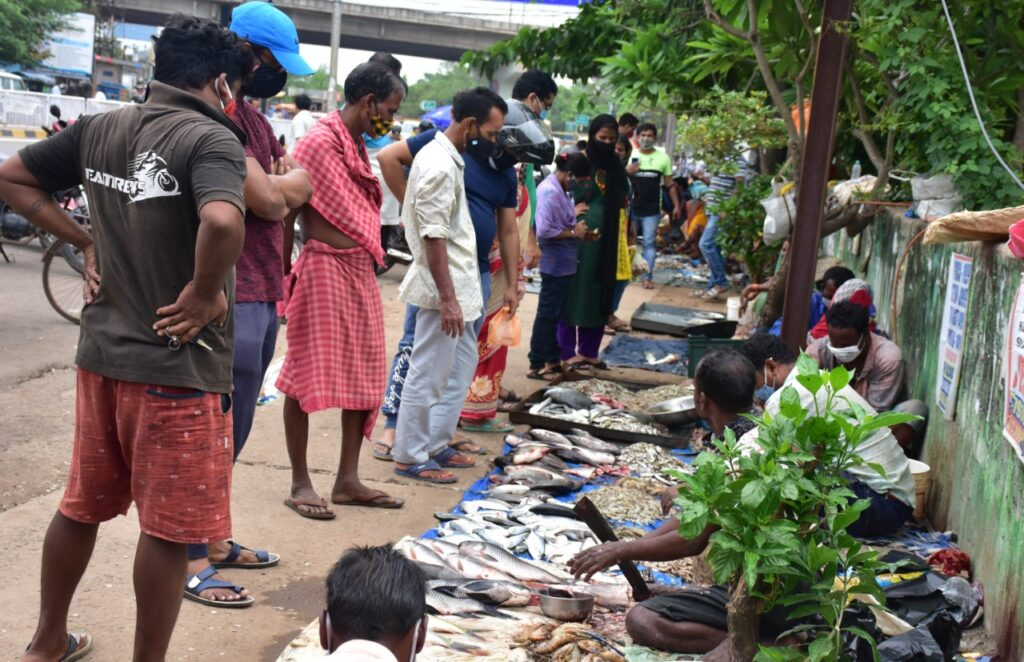 rasulgarh fish market