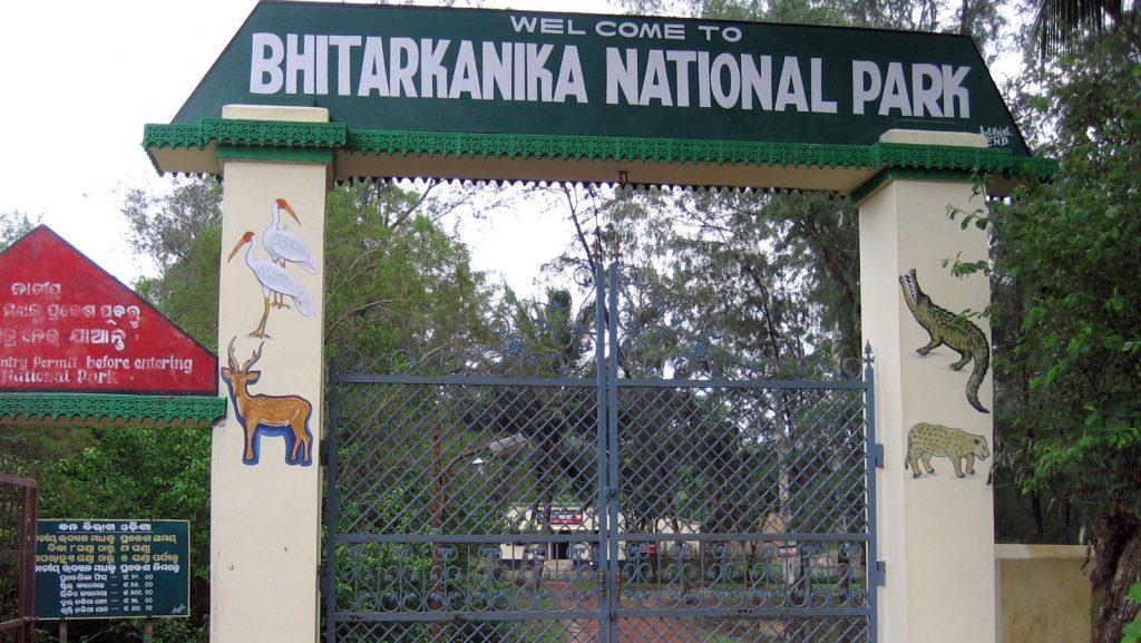 Bhitarkanika National Park entrance