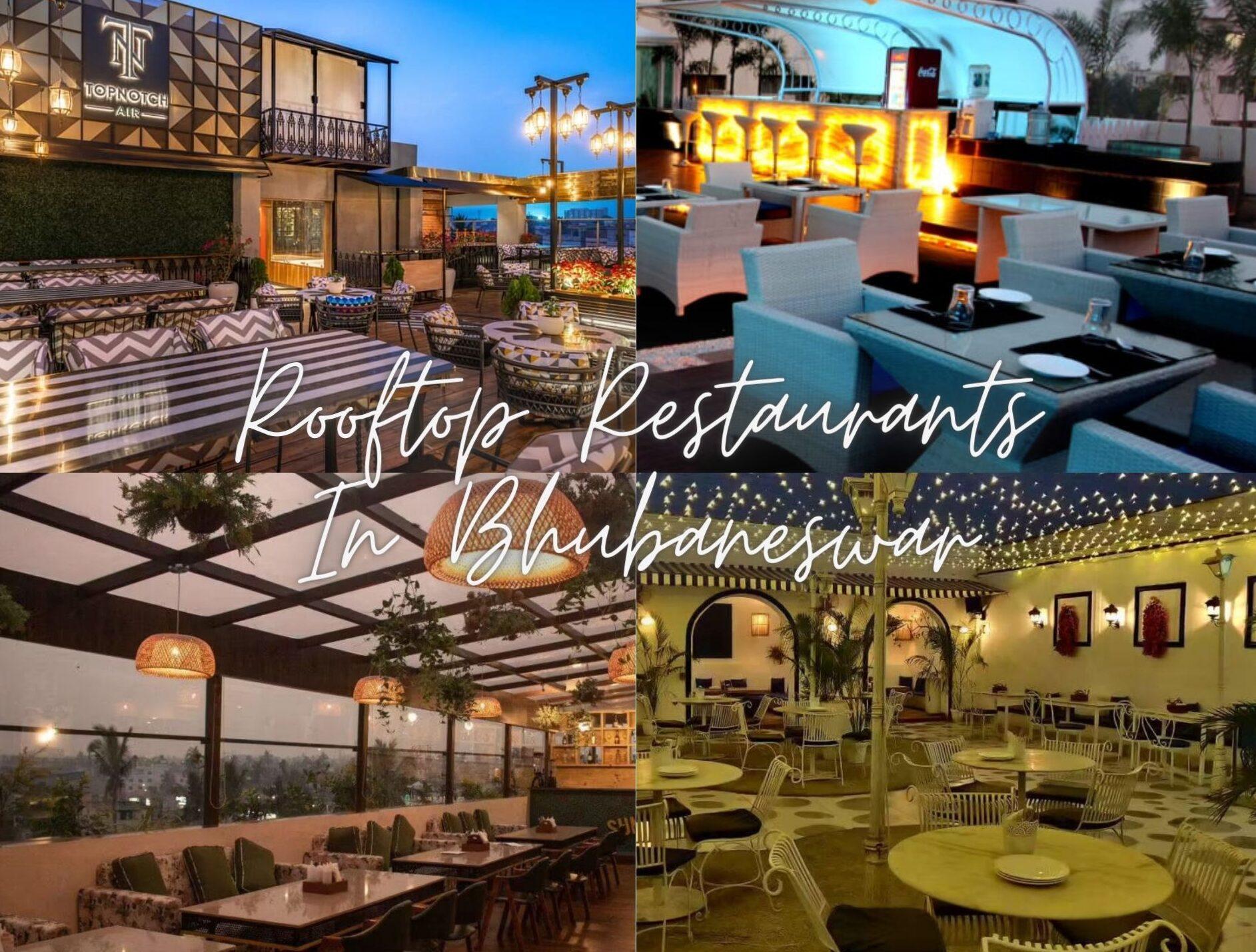 Best Rooftop Restaurants In Bhubaneswar