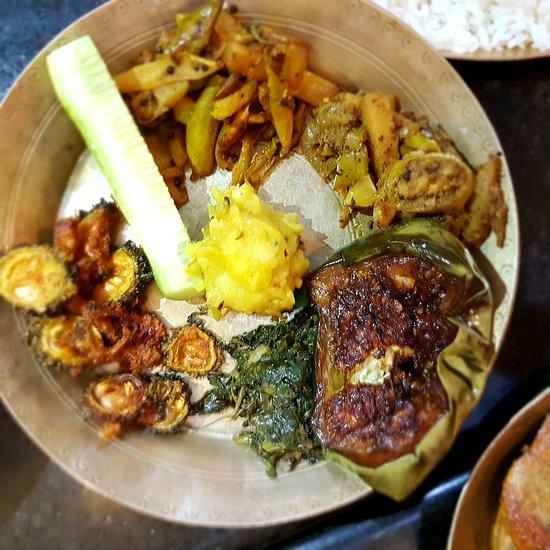 Veg Platter for Pakhala Bhata