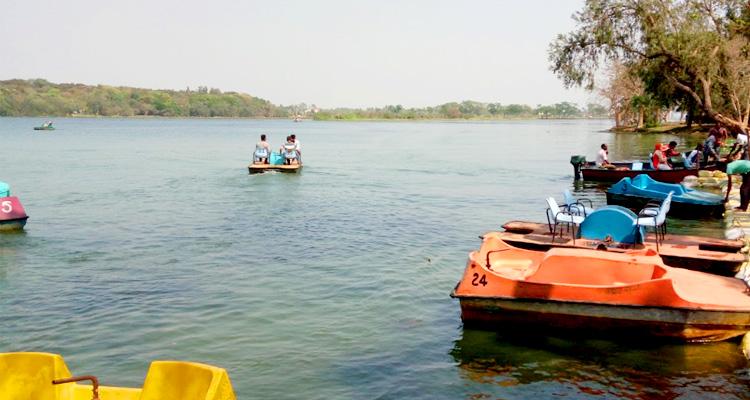Boating at Nandankanan